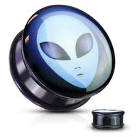 PAIR Alien Single Flare Plugs w/ o-rings