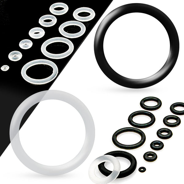 10pk Replacement O-Rings for Plugs, Tunnels