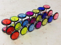 14pcs UV Acrylic Faux Cheater Plugs