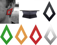GeoGauges Brand Diamond Shaped Silicone Tunnels