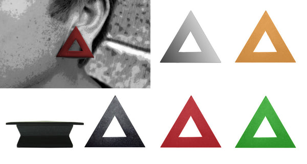 GeoGauges Brand Triangle Shaped Silicone Tunnels