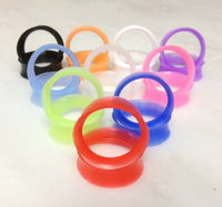 10 pair Super Soft Silicone Tunnels