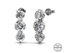 Load image into Gallery viewer, Destiny Jewellery Royalty 5 pair earring set with Swarovski Crystals