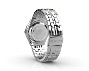 Destiny Jewellery Aleccia Stainless Steel Watch embellished with Swarovski Crystals