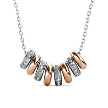 Load image into Gallery viewer, Destiny Beth Halo Necklace with Swarovski Crystals