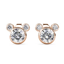 Load image into Gallery viewer, Destiny Mickey Mouse Set With Crystals From Swarovski® - Rose gold