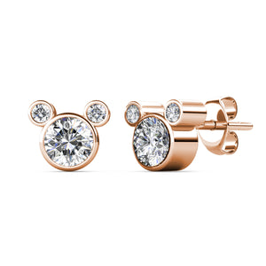 Destiny Mickey Mouse Set With Crystals From Swarovski® - Rose gold