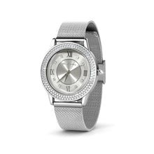 Load image into Gallery viewer, Destiny Jewellery Elana Stainless Steel watch embellished with Swarovski Elements