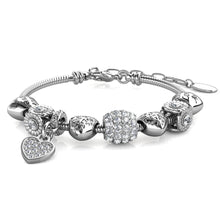Load image into Gallery viewer, Destiny Yara Charm Bracelet with Swarovski® Crystals