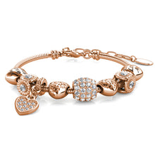 Load image into Gallery viewer, Destiny Haisley Charm Bracelet with Swarovski® Crystals