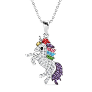 Destiny Enchanted Unicorn Necklace Crystals from Swarovski®