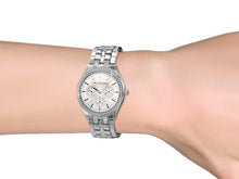 Load image into Gallery viewer, Destiny Jewellery Aleccia Stainless Steel Watch embellished with Swarovski Crystals