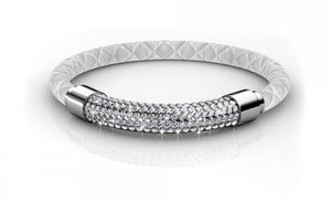 Destiny Jewellery Lush Bracelet embellished with Swarovski crystals-available in 3 variants