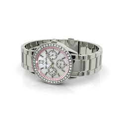 Destiny Jewellery Alaina Stainless Steel Watch embellished with Swarovski Elements