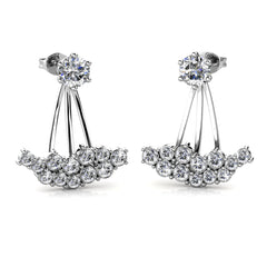 Destiny Jewellery Allesandra Earrings embellished with Swarovski crystals