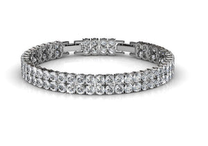 Destiny Jewellery Elizabeth Bracelet embellished with Swarovski Crystals