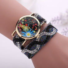 Load image into Gallery viewer, Crystal Rock Raw Emotion Rhinestone watch