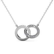 Load image into Gallery viewer, Destiny Mila Necklace with Swarovski Crystals - White