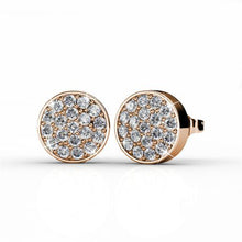 Load image into Gallery viewer, Destiny Savannah Earring with Swarovski Crystal - Rose