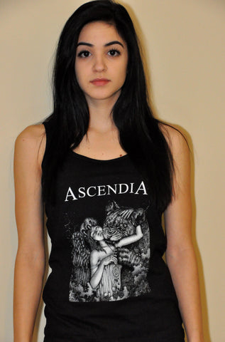 Black Tank Top with Album Art