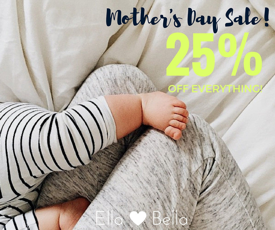 Mother's Day Sale | Your 25% off discount code for everything in store!