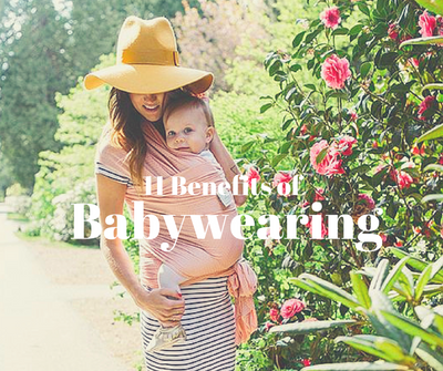 11 Benefits of Babywearing