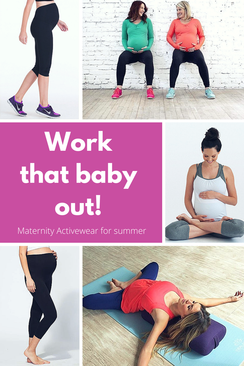 Work That Baby Out: Maternity Active Wear
