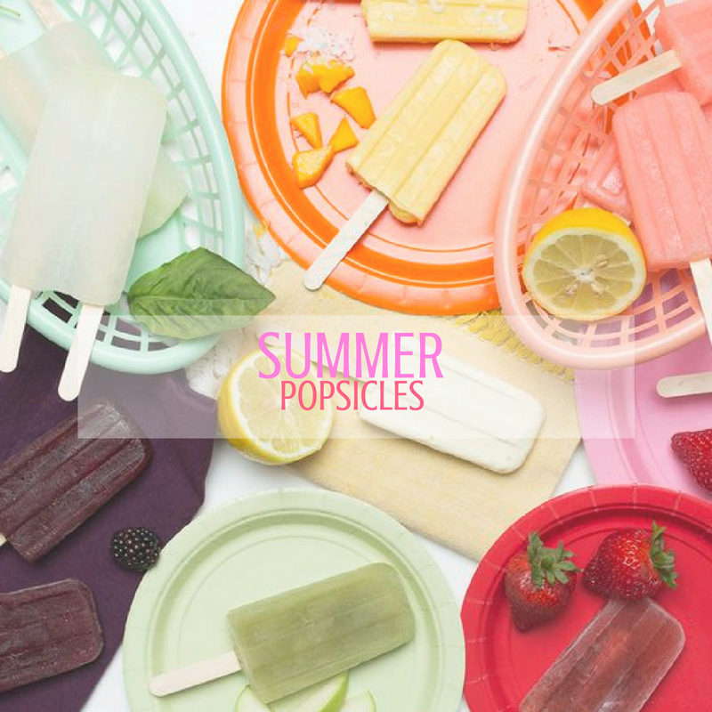 Stay hydrated! These summer popsicle recipes are healthy & delicious