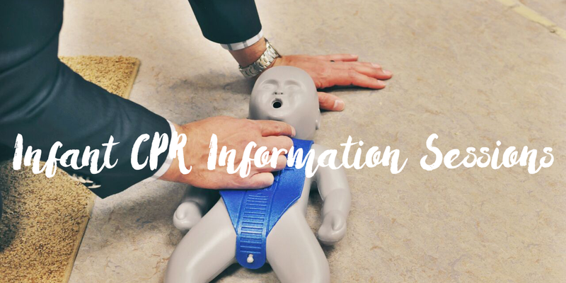 Prepare for your new baby - Infant CPR Class at Ella Bella Maternity Boutique
