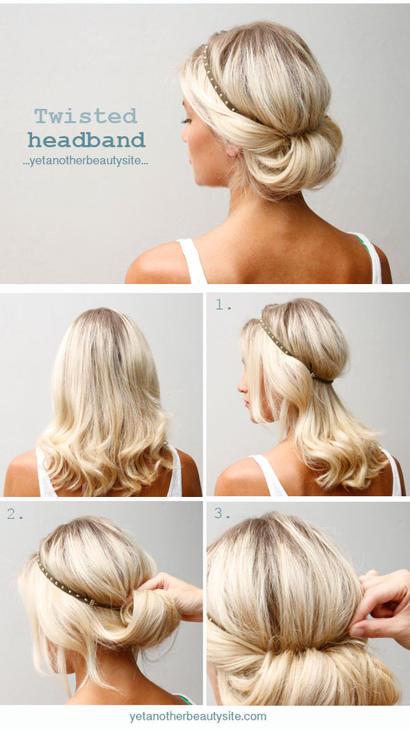 Chic Five Minute Hairstyles | For Mama-To-Be or Busy Mom of 1, 2 ...