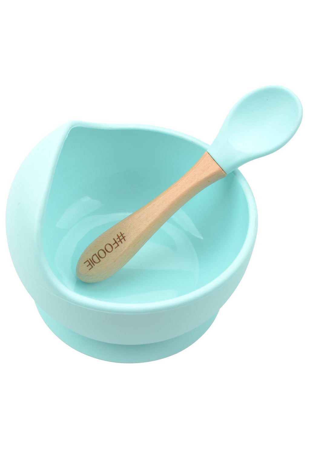 Silicone Bowl + Spoon
