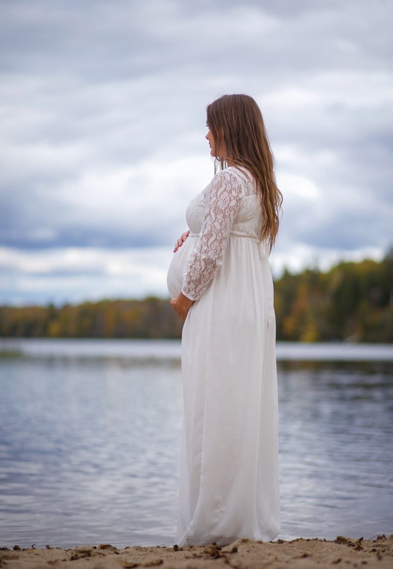 Charlotte Fall Maternity Gown