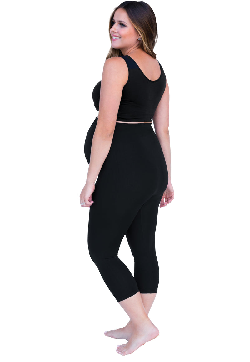 Bump Support Capri Leggings