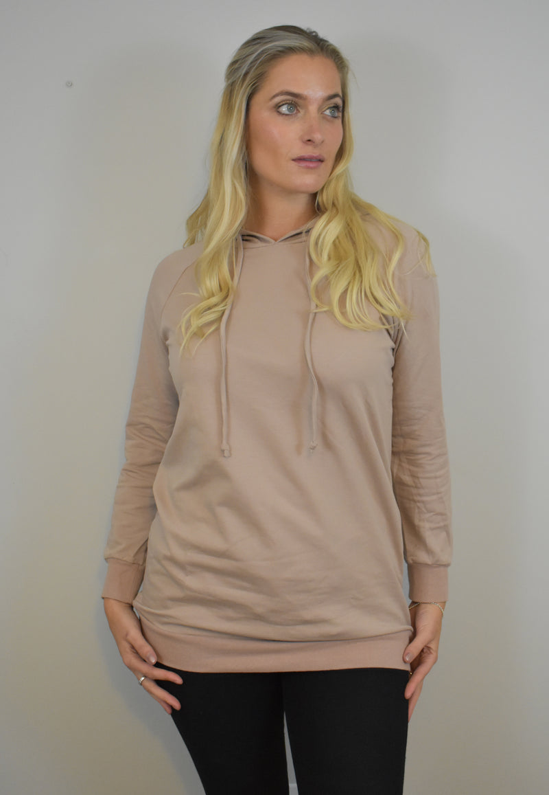 Jo Jo Nursing Jumper Dusty Rose