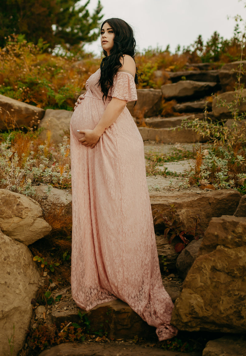 Lindy Maternity Gown