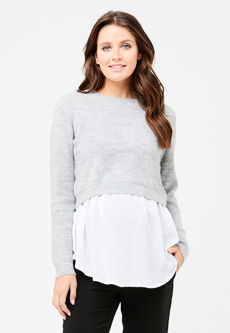 Mandy Detachable Nursing Knit