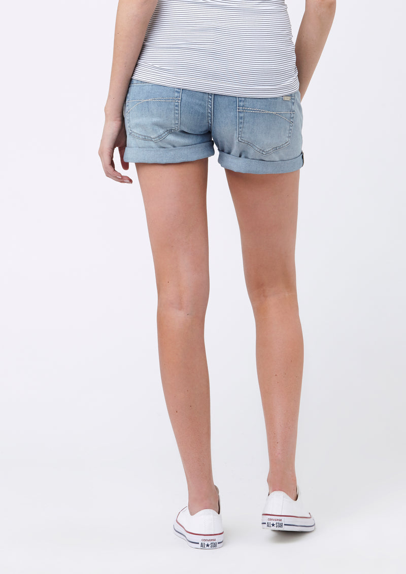 Denim Shorty Shorts