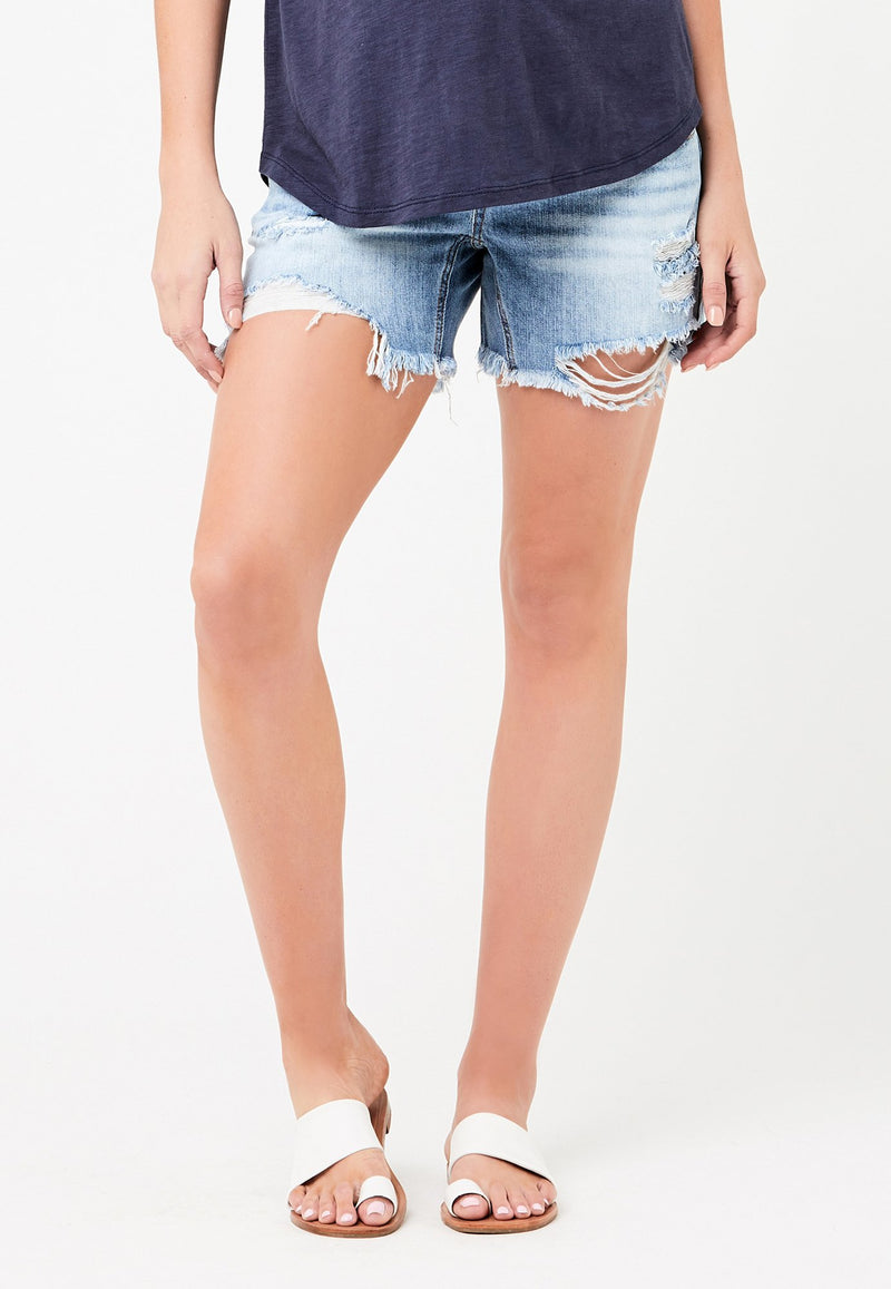 Baxter Distressed Denim Short