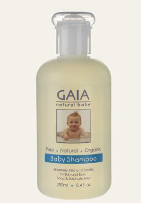 Baby bath and regular shampoo