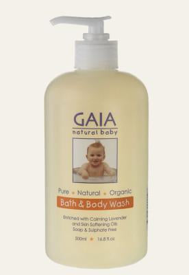 hair and body wash for baby