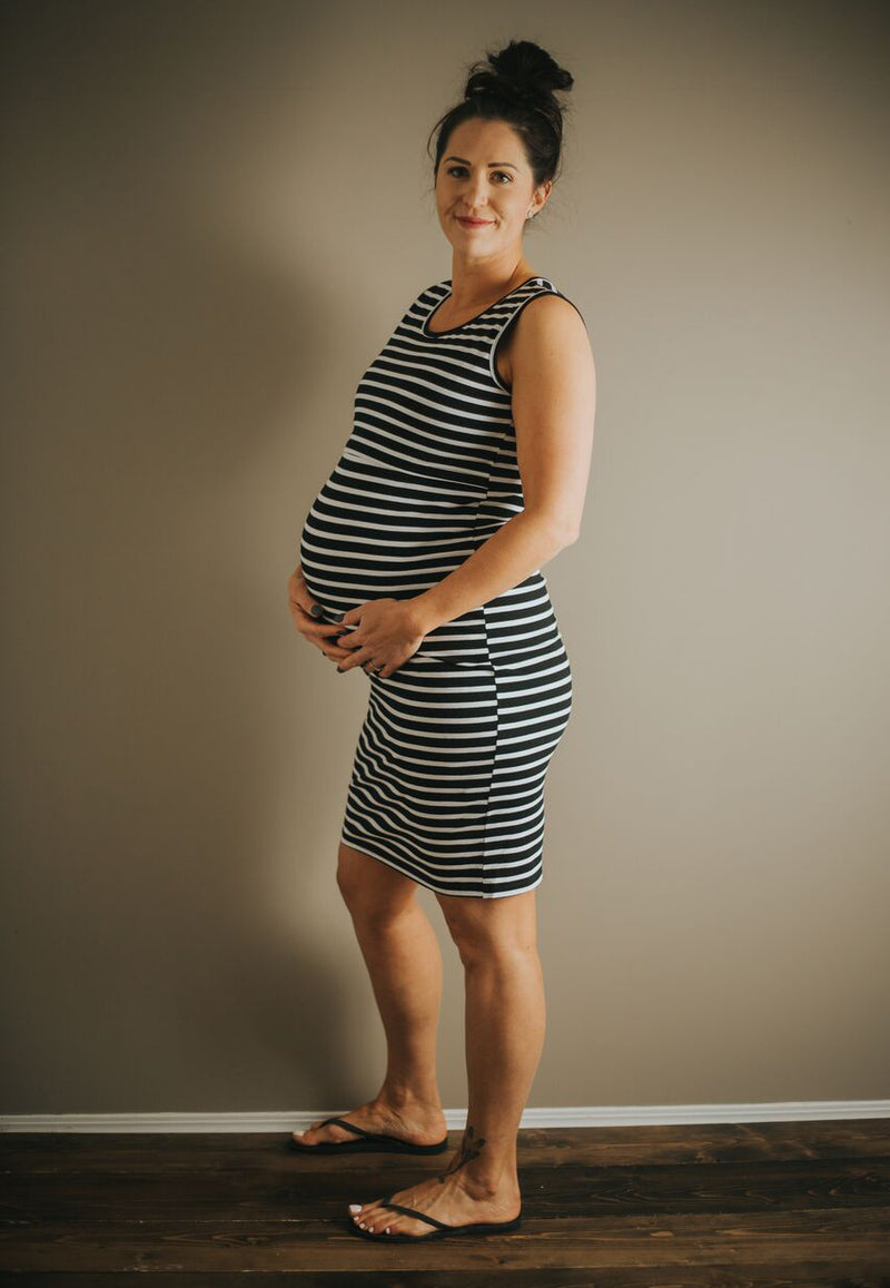 Brittany Maternity & Nursing Dress