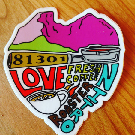 81301 LOVE Sticker