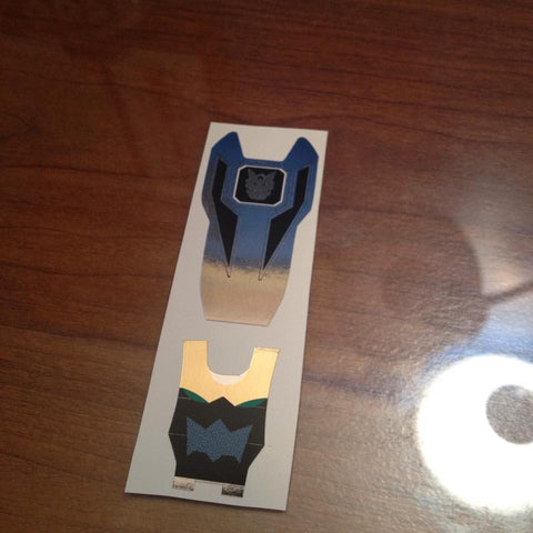 BOJ Ranger Key Labels - Goseiger