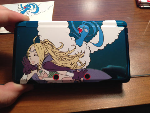 Nowi (from Fire Emblem) & Altaria 3DS/XL Skin