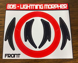 LIGHTNING Power Morpher Labels