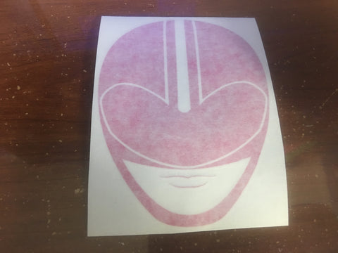 TimePink Helmet Decal