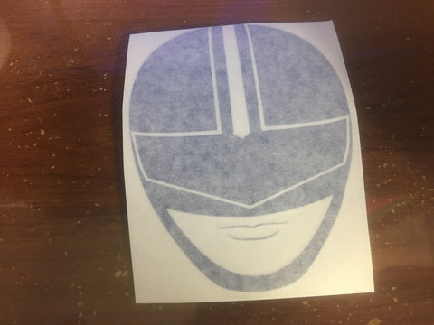 TimeBlue Helmet Decal