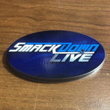 Ringside Collectibles Oval Stand Label - SmackDown Live