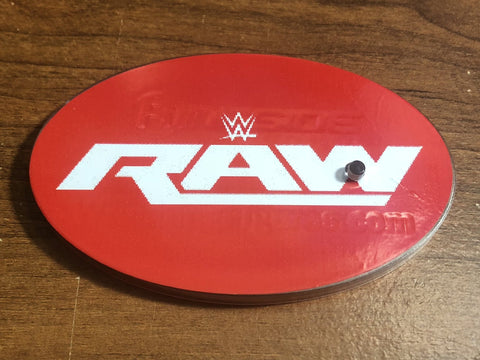 Ringside Collectibles Oval Stand Label - Raw