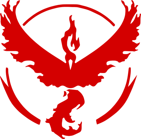 Team Valor - Moltres Decal